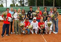 13-8-06,Den Haag, Tennis Nationale Jeugdkampioenschappen, alle winnaars 16/18 jaar