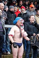 Photo: Richard Lane/Richard Lane Photography. London Wasps v Northampton Saints. Aviva Premiership. 23/03/2013. Supporter.