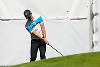 Chris Paisley chips onto the 16th green during the BMW PGA Golf Championship at Wentworth Golf Course, Wentworth Drive, Virginia Water, England on 26 May 2017. Photo by Steve McCarthy/PRiME Media Images.