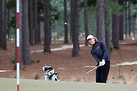 PINEHURST, NC - MARCH 02: BJ Rogillio of Wake Forest University pitches onto the green on the second hole at Pinehurst No. 2 on March 02, 2021 in Pinehurst, North Carolina.