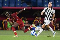 23rd September 2021;  Stadio Olimpicom, Roma, Italy; Serie A League Football, Roma versus Udinese; Tammy Abraham of As Roma