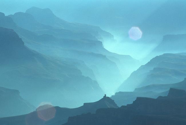 Smoky Sunrise, Grand Canyon, Arizona