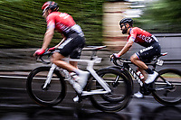 Nacer Bouhanni (FRA/Arkea-Samsic) racing in torrential rains at <br /> Grande Trittico Lombardo 2020 (1.Pro/ITA)<br /> 1 day race from Legnano to Varese (200km)