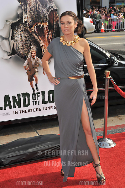 """Anna Friel at the premiere of her new movie """"Land of the Lost"""" at Grauman's Chinese Theatre, Hollywood..May 30, 2009  Los Angeles, CA.Picture: Paul Smith / Featureflash"""