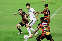 RECIFE,PE,06.09.2020 - SPORT - GOIÁS - A partida entre Sport e Goiás válida pela 8° rodada da série A, neste domingo(09) no estádio da Ilha do Retiro.(Foto: Rafael Vieira/Código19).