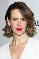 "HOLLYWOOD, LOS ANGELES, CA, USA - MARCH 28: Sarah Paulson at the 2014 PaleyFest - ""American Horror Story"" held at the Dolby Theatre on March 28, 2014 in Hollywood, Los Angeles, California, United States. (Photo by Celebrity Monitor)"