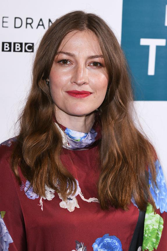 "Kelly Macdonald<br /> arriving for the"" GIRI/HAJI"" screening at the Curzon Bloomsbury, London<br /> <br /> ©Ash Knotek  D3521 25/09/2019"