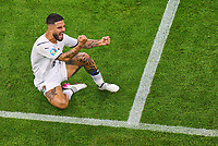 2nd July 2021; Allianz Arena, Munich, Germany; European Football Championships, Euro 2020 quarterfinals, Belgium versus Italy; Lorenzo Insigne, ITA celebrates as he scores his goal for 0-2
