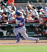 Nick Solak - Texas Rangers 2020 spring training (Bill Mitchell)