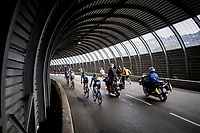 in a tunnel 2 km from the finish in Val thorens<br /> <br /> shortened stage 20: Albertville to Val Thorens(59km in stead of the original 130km due to landslides/bad weather)<br /> 106th Tour de France 2019 (2.UWT)<br /> <br /> ©kramon