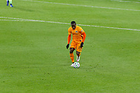 ST PAUL, MN - OCTOBER 18: Maynor Figueroa #15 of Houston Dynamo during a game between Houston Dynamo and Minnesota United FC at Allianz Field on October 18, 2020 in St Paul, Minnesota.