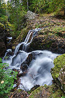Manganese Falls in Copper Harbor, MI.