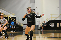 Ella Aprea (15) of Bentonville Thursday, Oct.  7, 2021, during play at Tiger Arena in Bentonville. Visit nwaonline.com/211008Daily/ for today's photo gallery.<br /> (Special to the NWA Democrat-Gazette/David Beach)