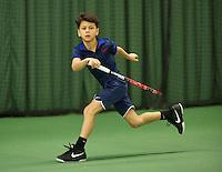 Rotterdam, The Netherlands, March 11, 2016,  TV Victoria, , NOJK 12/16 years, Noah Gabriel<br /> Photo: Tennisimages/Henk Koster