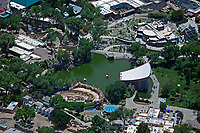 aerial photograph of Albuquerque Biologocal Park, New Mexico