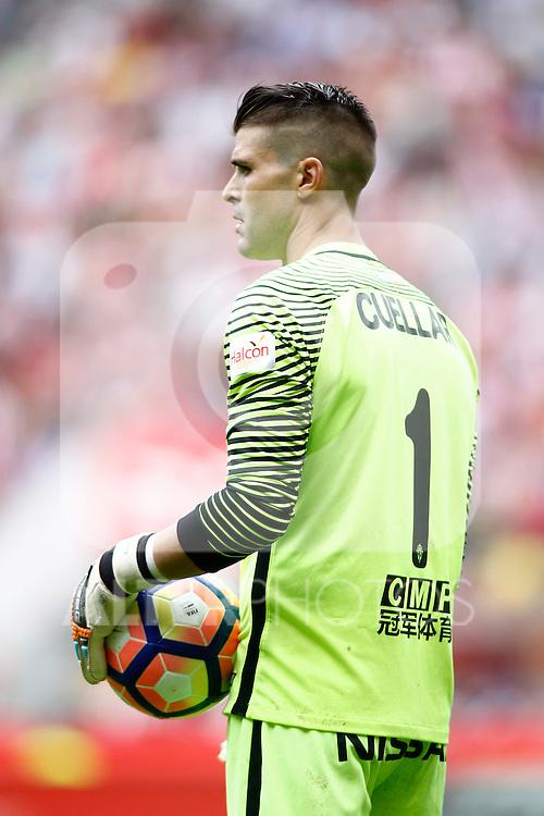 Sporting de Gijon's Ivan Pichu Cuellar during La Liga match. September 24,2016. (ALTERPHOTOS/Acero)
