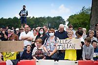 Julian fans<br /> <br /> Stage 4 from Redon to Fougères (150km)<br /> 108th Tour de France 2021 (2.UWT)<br /> <br /> ©kramon
