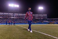 SAN PEDRO SULA, HONDURAS - SEPTEMBER 8: Christian Pulisic #10 of the United States walks on the field before a game between Honduras and USMNT at Estadio Olímpico Metropolitano on September 8, 2021 in San Pedro Sula, Honduras.