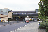 Cumbernauld: The Shopping Mall and Town Center over the Motorway. Photo '90.