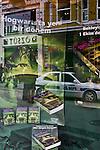 Istanbul, Turkey, Harry Potter window display, book store, Beyoglu, district, Istiklal Caddesi, popular street promenade,