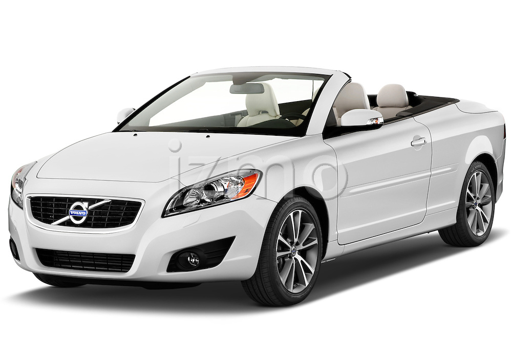 Front three quarter view of a 2012 Volvo C70 T5 .