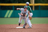 Dartmouth Big Green catcher Logan Adams (10) runs to third base during a game against the USF Bulls on March 17, 2019 at USF Baseball Stadium in Tampa, Florida.  USF defeated Dartmouth 4-1.  (Mike Janes/Four Seam Images)