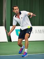 Januari 24, 2015, Rotterdam, ABNAMRO, Supermatch, Bas Snelders<br /> Photo: Tennisimages/Henk Koster