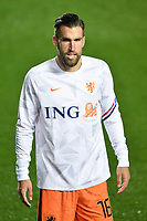 Kevin Strootman of Netherlands  <br /> during the Uefa Nation League Group Stage A1 football match between Italy and Netherlands at Atleti azzurri d Italia Stadium in Bergamo (Italy), October, 14, 2020. Photo Andrea Staccioli / Insidefoto