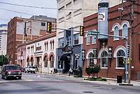 Oklahoma City, Oklahoma, USA.  Sheridan Street, Bricktown.