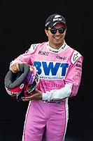 12th March 2020; Melbourne Grand Prix Circuit, Melbourne, Victoria, Australia; Formula One, Australian Grand Prix, Practice Day; BWT Racing Point driver Sergio Perez
