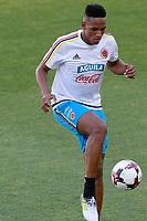 Colombia's Carlos Sanchez during training session. June 6,2017.(ALTERPHOTOS/Acero) (NortePhoto.com) (NortePhoto.com)