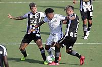 Santos (SP), 27.01.2020 - Santos-Botafogo - O jogador bruno nazario e marinho. Partida entre Santos e Botafogo valida pela 30. rodada do Campeonato Brasileiro neste domingo (27) no estadio da Vila Belmiro em Santos.