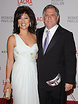 "Julie Chen and Les Moonves at LACMA's ""The Unmasking"" The Lynda & Stewart Resnick Exhibition Pavilion Opening Gala at       The Los Angeles County Museum of Art in Los Angeles, California on September 25,2010                                                                               © 2010 DVS / Hollywood Press Agency"