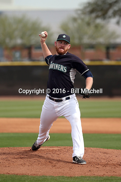 Zack Littell - Seattle Mariners 2016 spring training (Bill Mitchell)