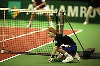 18-2-06, Netherlands, tennis, Rotterdam, ABNAMROWTT, Ballgirl