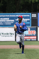 South Bend Cubs outfielder D.J. Artis (7) during a game against the Wisconsin Timber Rattlers on July 21, 2021 at Neuroscience Group Field at Fox Cities Stadium in Grand Chute, Wisconsin.  (Brad Krause/Four Seam Images)