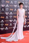 Anna Castillo attends to the Red Carpet of the Goya Awards 2017 at Madrid Marriott Auditorium Hotel in Madrid, Spain. February 04, 2017. (ALTERPHOTOS/BorjaB.Hojas)