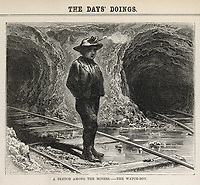 the watch-boy / The day's doings vol 2 , 6 May 1871 page 229 / 1871