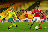 2nd January 2021; Carrow Road, Norwich, Norfolk, England, English Football League Championship Football, Norwich versus Barnsley; Todd Cantwell of Norwich City shoots on goal