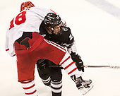 Jordan Greenway (BU - 18), Kasper Björkqvist (PC - 20) - The Boston University Terriers tied the visiting Providence College Friars 2-2 on Saturday, December 3, 2016, at Agganis Arena in Boston, Massachusetts.