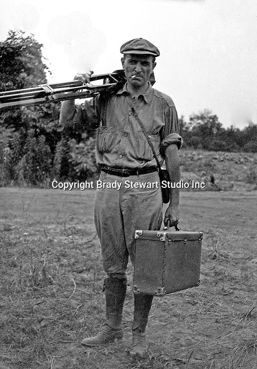 Westmoreland County:  Brady Stewart's first photographic assignment as B.S. Stewart Photography.  Location photography on a farm in Westmoreland County.