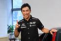 Motor : Takuma Sato 2017 Indianapolis 500 winner attends press conference in Tokyo