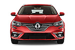 Car photography straight front view of a 2016 Renault Megane-Grandtour Bose-Edition 5 Door wagon Front View