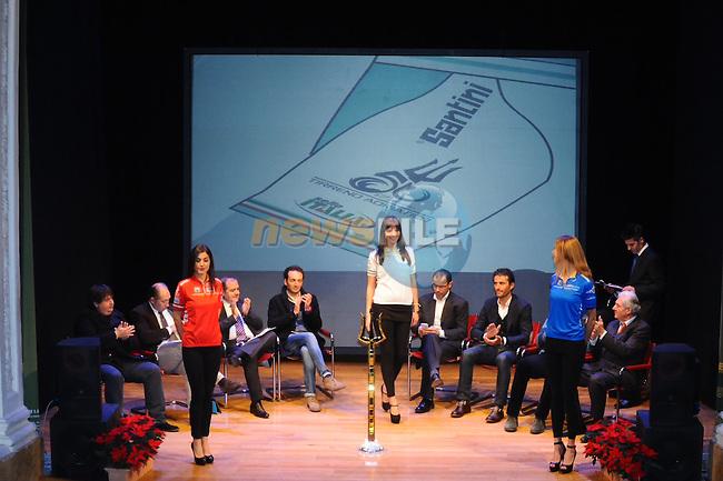 Tirreno-Adriatico 2015 Presentation held in <br /> Camaiore, Italy . 18th December 2014<br /> Photo: La Presse/www.newsfile.ie