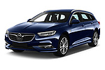 2018 Opel Insignia Sports Tourer Dynamic 5 Door Wagon angular front stock photos of front three quarter view