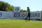 Luke Donald (ENG) tees off on the 15th tee during the morning session on Day 3 of the Volvo World Match Play Championship in Finca Cortesin, Casares, Spain, 21st May 2011. (Photo Eoin Clarke/Golffile 2011)