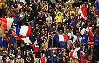 17th July 2021; Brisbane, Australia;  French fans during the Australia versus France, 3rd Rugby Test at Suncorp Stadium, Brisbane, Australia on Saturday 17th July 2021.