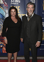 "LOS ANGELES - JANUARY 22:  Pierce Brosnan and Keely Brosnan at the opening night of ""The Last Ship"" on January 22, 2020 at the Ahmanson Theatre in Los Angeles, California. (Photo by Scott Kirkland/PictureGroup)"