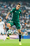 Cristian Tello Herrera of Real Betis in action during the La Liga 2017-18 match between Real Madrid and Real Betis at Estadio Santiago Bernabeu on 20 September 2017 in Madrid, Spain. Photo by Diego Gonzalez / Power Sport Images