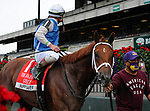 October 10, 2020: Happy Saver, ridden by Irad Ortiz Jr., wins the 2020 running of the G1 Jockey Club Gold Cup S. at Belmont Park in Elmont, NY. Sophie Shore/ESW/CSM